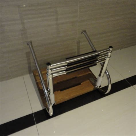 Inboard Boat Ladder by 3 Steps Ladder 2 Railsteak Inboard Boat Swim Platform