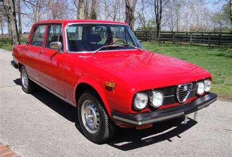 Alfa Romeo Berlina For Sale by 1974 Alfa Romeo 2000 Berlina For Sale On Bat Auctions