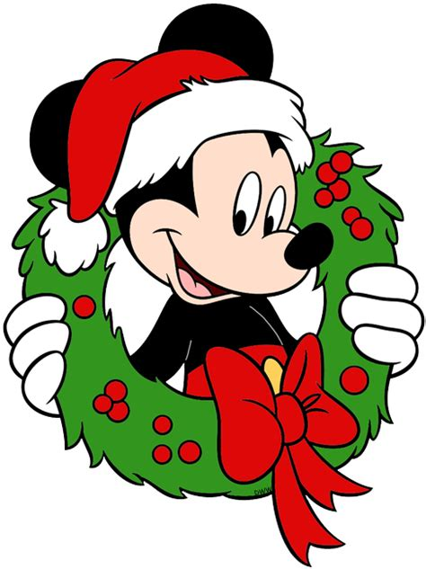 mickey mouse christmas clip art disney clip art galore