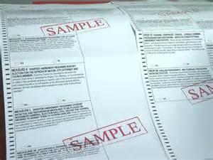Sample 2016 Ballot Voting