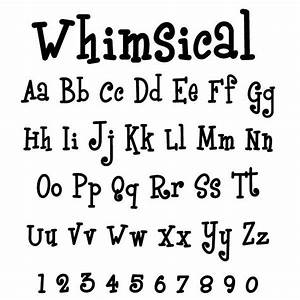 pin by katrina howell on whimsical fonts pinterest With whimsical font wooden letters