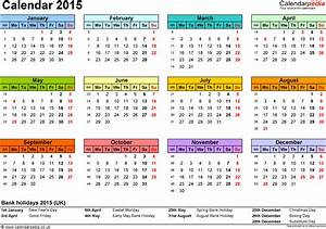 calendar 2015 uk 16 free printable pdf templates With 2015 yearly calendar template in landscape format