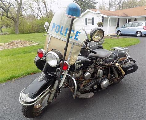 1960 Harley-davidson Police
