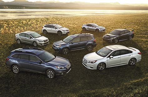 All Models by All Subaru Models Receive Iihs Top Safety Tsp For 2015