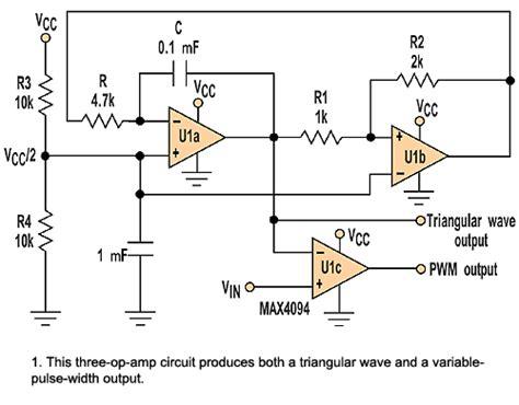 Pulse Width Modulator Features Versatile Operating