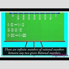 Rational Number Between Two Rational Numbers Youtube