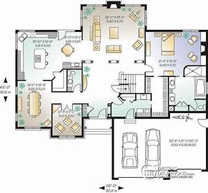 detail du plan w3443 plans pinterest maison With plans de maison moderne 7 detail du plan de maison unifamiliale w3928