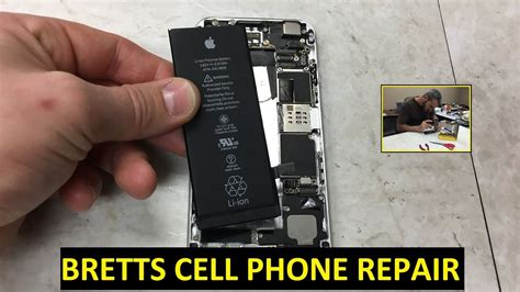 apple iphone  battery replacement repair youtube