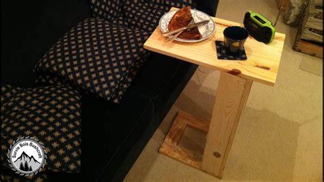 fabriquer une table de comment fabriquer une table pour canap 233 projet en