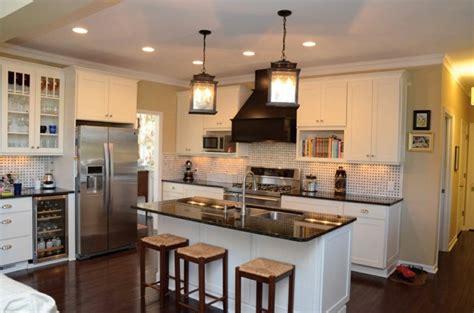 peninsula or island type kitchen cuisine en l moderne avec 238 lot en 108 photos magnifiques 7421