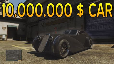 Gta V Tuning A 10 Million $ Car (truffade Z Type)