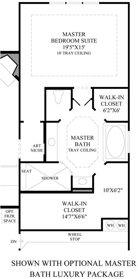 toll brothers alon estates master suite layout