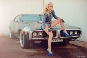 wallpaper blonde legs high heels women  cars