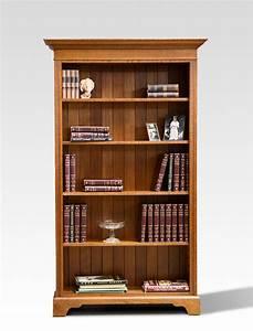 Silky, Oak, Bookcase, -, Open, Shelf