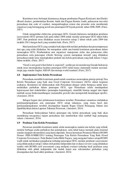 BE & GG, Rizki Aditama, Hapzi Ali, Penerapan Good Corporate Governanc…
