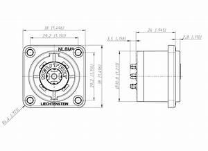 2 Pole Speakon Wiring Diagram
