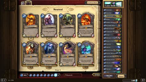 Hearthstone Deck Helper Reddit by My Deck Expensive But Tons Of