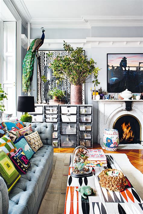 Appartment Decor by Bohemian Apartment In New York