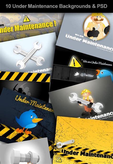 maintenance backgrounds business card logo