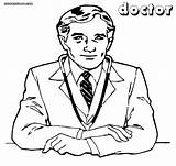 Doctor Coloring Pages Colorings Print sketch template