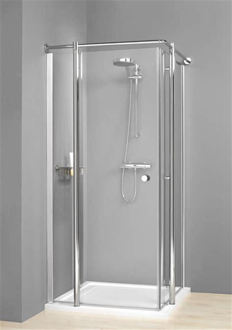 kohler wellworth boston duschkabine eckig 90 x 90 cm chrom klar alles für