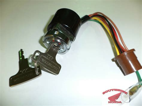 Genuine Honda Switch Assembly With Keys Ctk Cth