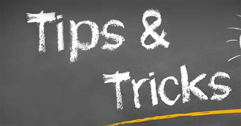 Tipps Tricks by Tips And Tricks In Contact With Iq Suite