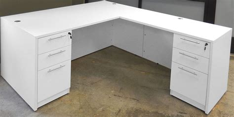 u shaped computer desk with hutch white u shaped workstation w hutch