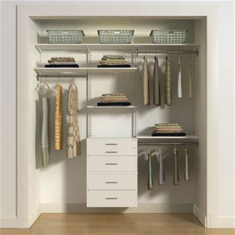 freedomrail closet hanging drawers in pre designed