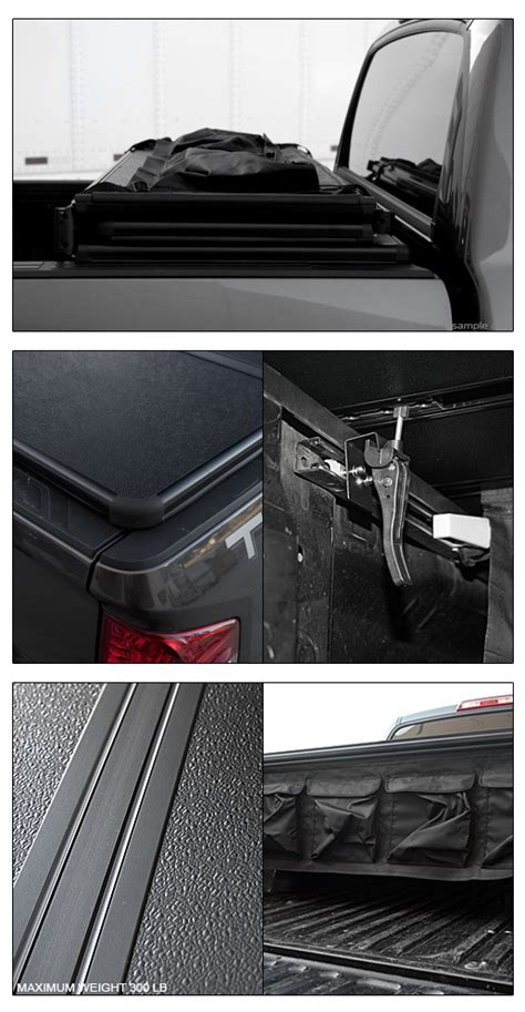 truck bed led light kit tri fold solid tonneau cover led lights kit 2007 2014