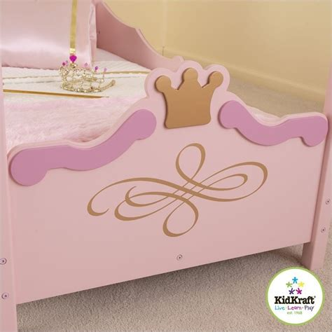 Kidkraft Princess Toddler Bed 76121 by Kidkraft Princess Toddler Bed In Pink 76121
