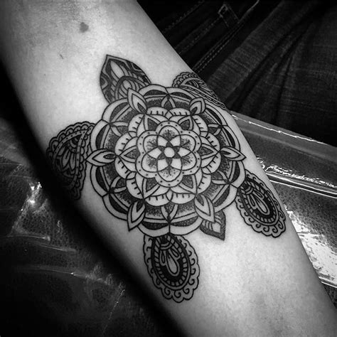 finally   ornamental mandala turtle