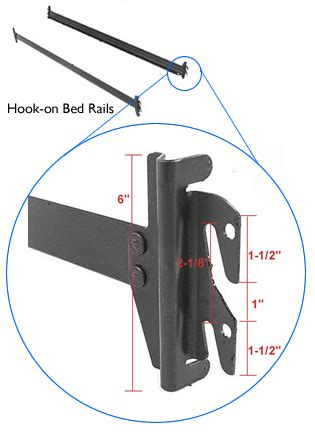 Leggett And Platt Twin Headboards by Full To Queen Converter Rails Bed Rails Thesleepshop Com
