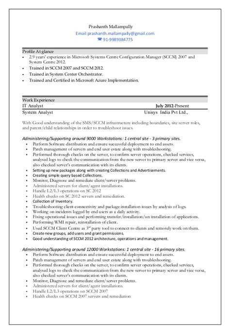 prashanth mallally sccm resume 1