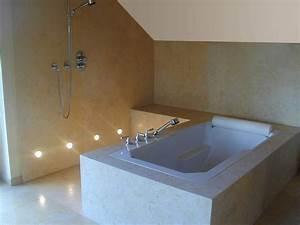 Badezimmer Platten Statt Fliesen : solnhofener platten badezimmer verschiedene ideen f r die raumgestaltung ~ Sanjose-hotels-ca.com Haus und Dekorationen