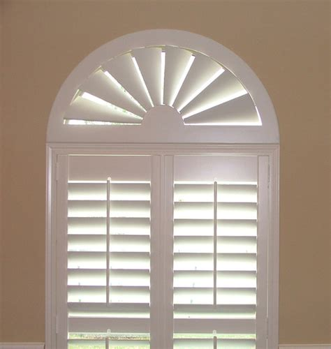 arched window blinds blinds custom size wood arch traditional window