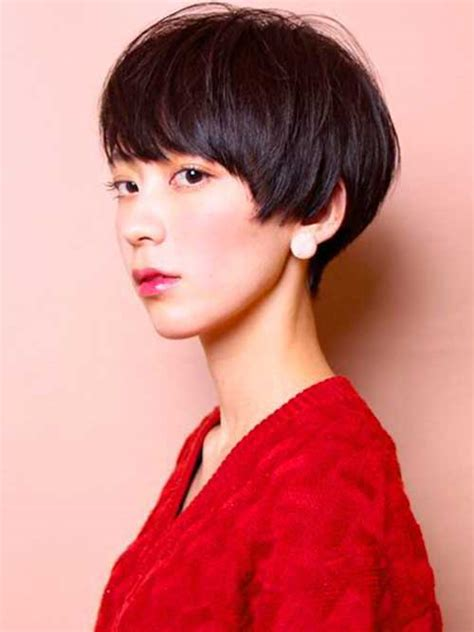 lovely asian pixie cut pics