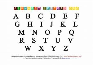 free printable alphabet letters new calendar template site With pics of alphabet letters
