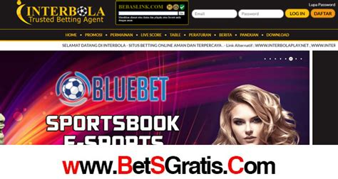InterBola Bonus New Member Sportsbook 100% - Bet Gratis ...