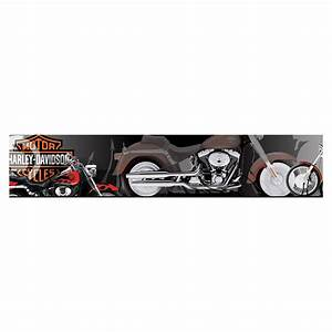 shop brewster wallcovering harley davidson wallpaper With kitchen cabinets lowes with harley davidson wall art