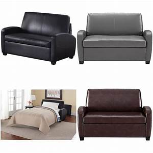 Sofa Sleeper Convertible Couch Loveseat Leather Bed