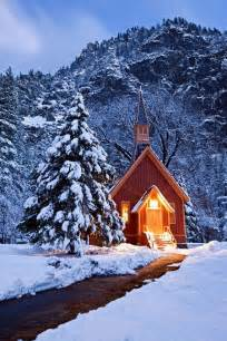 Winter Yosemite National Park Church