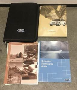 05 2005 Ford Escape Owners Manual    Handbook    Guide