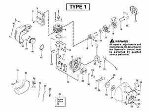 Mcculloch Trim Mac 250ls  952715743  Trimmer Engine Spare