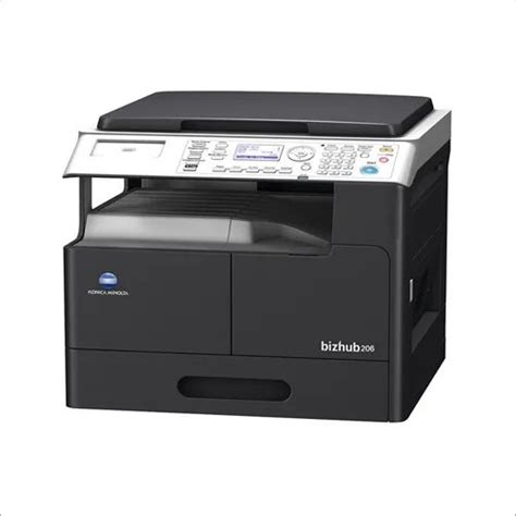 Do you have a question about the konica minolta bizhub 20 or do you need help? Konica Minolta bizhub 206 Monochrome Multifunction Printer, Upto 20 ppm, Price from Rs.61831 ...