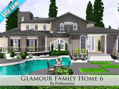 pralinesims glamour family home
