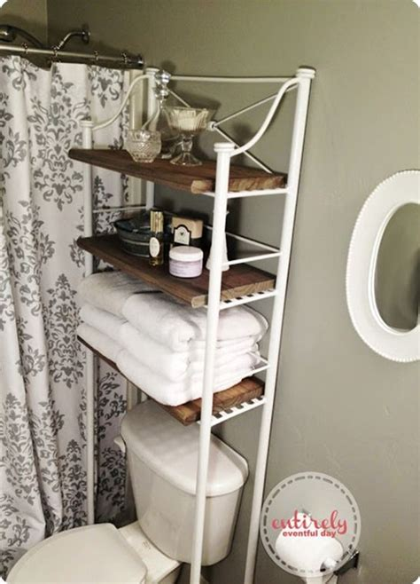 Wood Bathroom Etagere by Metal And Wood Bathroom Shelf Home Crafts Bathroom