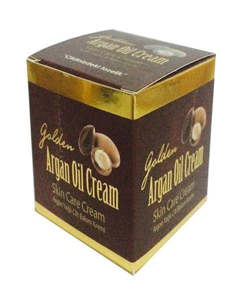 golden argan oil üz qırışlarına və ləkələrə qarşı krem