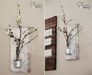 Homemade wall decor ideas modern magazin for Wall decor ideas