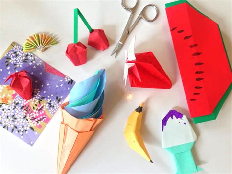 summer origami classes  children alice sushi art